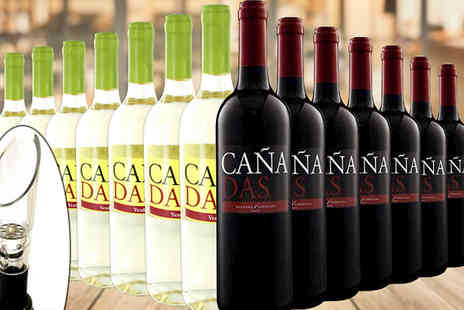 Karpe Deal SL - Mix of Spanish Wine 12 or 16 Bottles - Save 56%