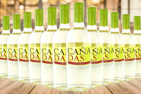 Karpe Deal SL - Canadas White Wine Collection 12 or 16 Bottles Plus Free Decanter Option - Save 56%