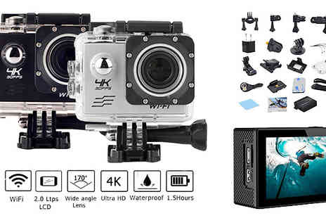 Karpe Deal SL - Ultra HD Waterproof Camera Two Colours - Save 57%