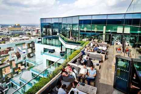Marco Pierre White - Sparkling Afternoon Tea for 2 with Birmingham Views - Save 37%