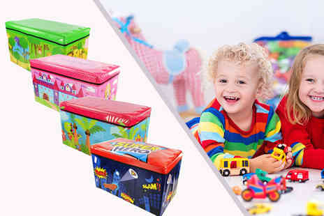 Shop Monk - Large kids storage toy box - Save 72%