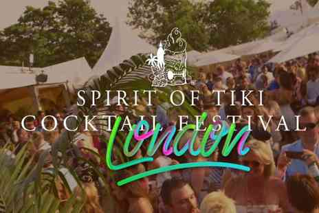 Sprits Elite - Ticket to the Spirit of Tiki Cocktail Festival and two drinks and a food token - Save 33%
