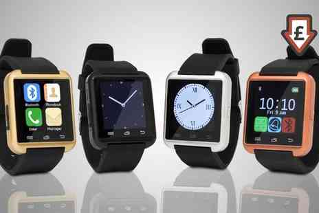 Groupon Goods Global GmbH - One or Two BAS TeK Bluetooth Smart Watches - Save 81%