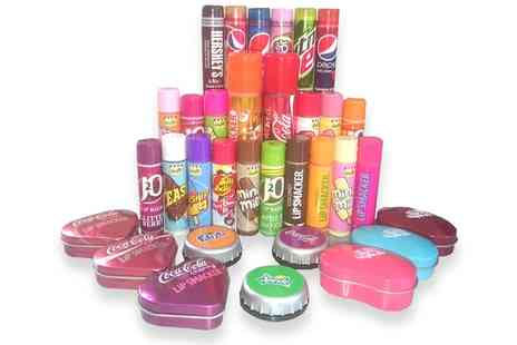 Groupon Goods Global GmbH - Assorted Lip Balms Glosses Seven Piece Lucky Dip Set - Save 80%