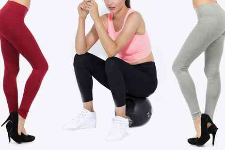 Groupon Goods Global GmbH - Full Length Cotton Leggings - Save 0%