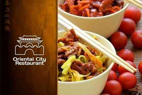 Oriental City Restaurant - Authentic Chinese Cuisine for Two - Save 60%