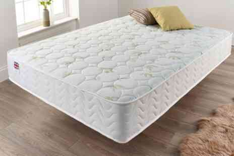 Groupon Goods Global GmbH - Aloe Vera Skin Care Mattress With Free Delivery - Save 73%