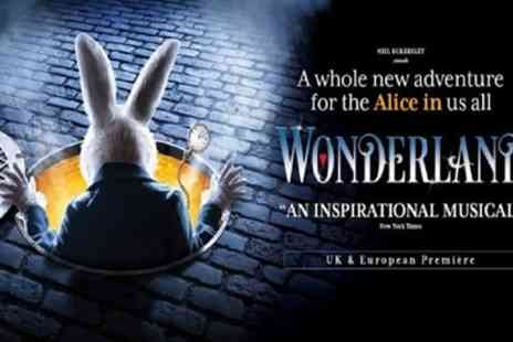 ATG Tickets - One band B or band A ticket to Wonderland The Musical 11 On 15 July - Save 39%