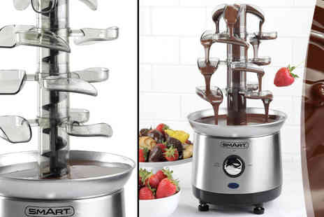 Ugoagogo - Smart Stainless Steel Chocolate Fondue Fountain - Save 52%