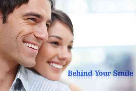Behind Your Smile - Invisible STb Lingual Braces For Upper Or Lower Front Teeth - Save 63%
