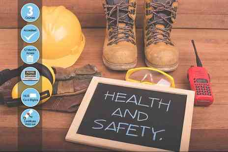 e courses4you - Online safety in the workplace course or online safety and risk assessment course bundle - Save 89%