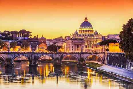 Weekender Breaks - Two night Rome stay including breakfast, flights and Vatican City tour - Save 39%