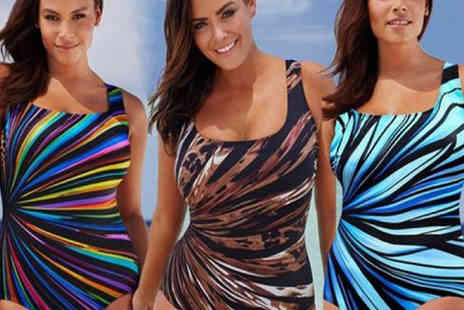Jewleo - Plus size push up swimsuit - Save 77%