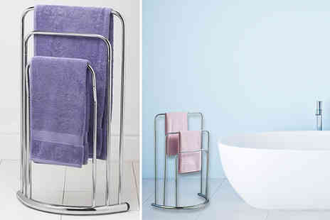 Funky Buys - Three rail towel stand - Save 60%