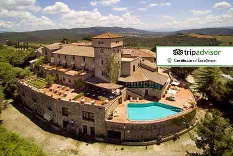 Broadway Travel - Five night half board Umbria stay at 4 Sar Relais Il Castello including flights, transfers or car hire, Prosecco, two hour cooking class and wine tasting - Save 42%