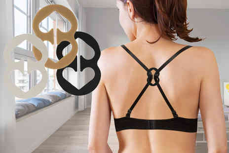 Ckent - Pack of six magic bra clips - Save 72%
