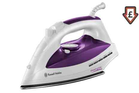 Groupon Goods Global GmbH - Russell Hobbs 23060 Steam Iron - Save 63%