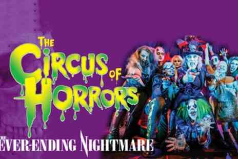 The Circus of Horrors - One ticket to see The Circus of Horrors on 29 July To 14 October - Save 50%