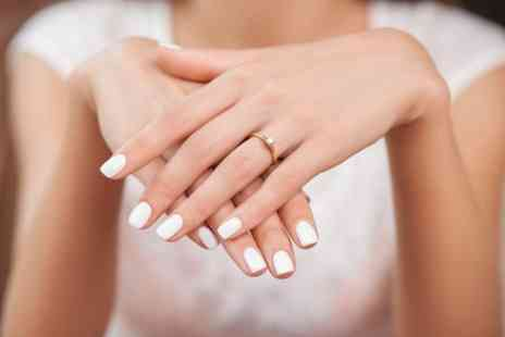The Red Angels Beauty Salon - Shellac Manicure, Pedicure or Both - Save 27%
