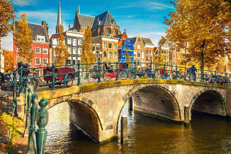 Bargain Late Holidays - Four Star Award Winning City Break to Amsterdam - Save 0%