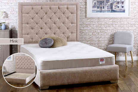 Cheap Mattresses - Single bed frame with mattress - Save 74%