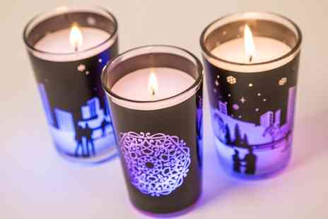 Groupon Goods Global GmbH - Two, Three or Six Air Wick Colour Changing Candles - Save 69%