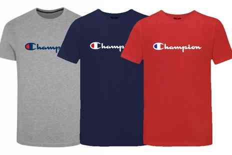 Groupon Goods Global GmbH - One or Three Champion Heritage Mens TShirts - Save 47%