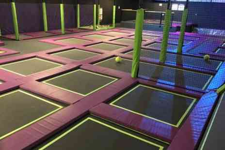 Imagination Street - One Hour Trampoline Session for One, Two or Four - Save 25%