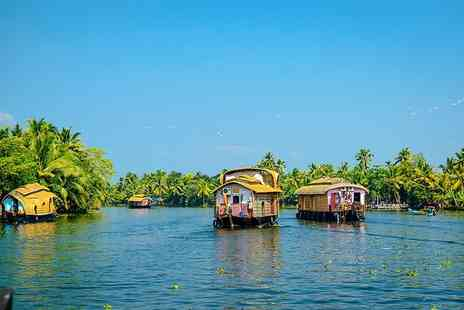 Bargain Late Holidays - Seven or Ten night Cochin, India getaway with breakfast, flights and optional tours - Save 26%