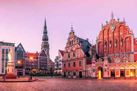 Cheap Cost Holidays - Two, three or four night Riga getaway with flights and breakfast - Save 22%