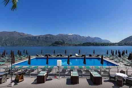 Crystal Travel - Three, Five or Seven night all inclusive Lake Como, Italy stay with infinity pool and flights at Grand Hotel Britannia Excelsior - Save 31%