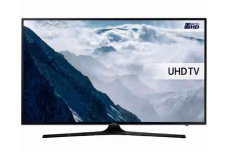 Groupon Goods Global GmbH - Samsung 40 Inch 4K Ultra HD HDR LED Smart TV With Free Delivery - Save 21%