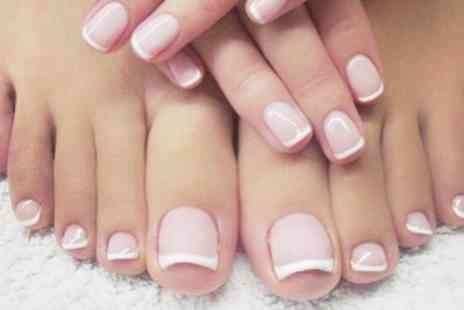 ML Beauty - Manicure with Optional Pedicure - Save 54%