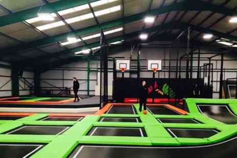 The Jump Mania - One Hour Jumping Session for Up to Four - Save 29%