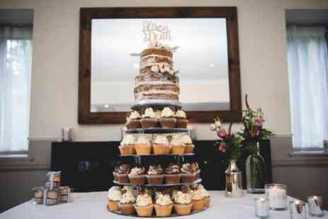 Poppies Bakehouse - Two or Three Tier Naked Wedding Cake - Save 0%