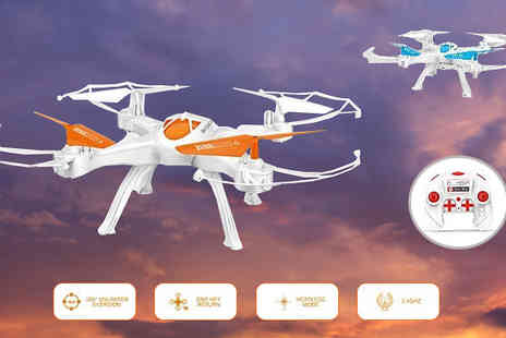 Toy Loco - TW X16 RC Drone Quadcopter in 2 Colours - Save 76%