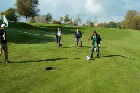 Roseberry Grange Golf Club - 18 hole game of football golf for one child or Adult - Save 57%