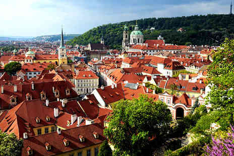 Red and Blue Design Hotel Prague - Four Star Design Hotel Stay For Two in Historic Centre - Save 80%