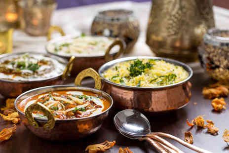 New Gandhi Indian Restaurant - Sharing platter followed by Indian dining for two people including rice and naan bread - Save 58%