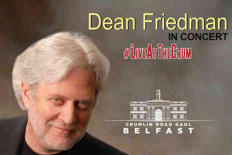 Crumlin Road Gaol - Ticket to Dean Friedman In Concert on Sunday 16th July - Save 40%