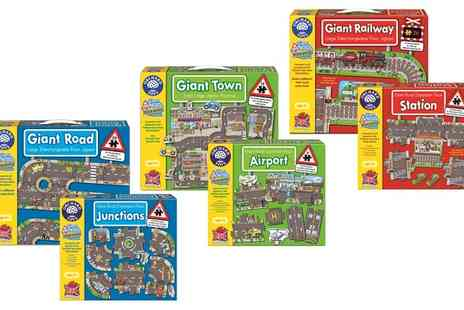 Groupon Goods Global GmbH - Orchard Toys Giant Transport Themed Jigsaw Puzzles in Choice of Design - Save 14%