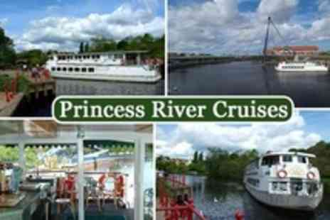 Princess River Cruises - In River Tees Evening Cruise With Barbecue For Four - Save 62%