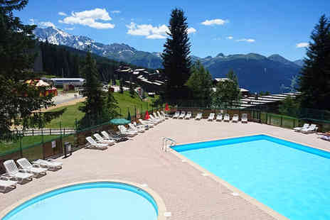Hotel Du Golf - Stylish Summertime French Alps Escape For Two - Save 36%