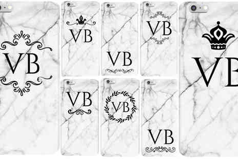 DecoMatters - Personalised Marble iPhone Case - Save 67%