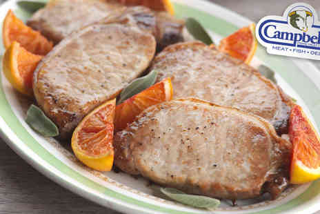 Campbells Prime Meat - Fresh And Lean Steak Meat Box - Save 47%