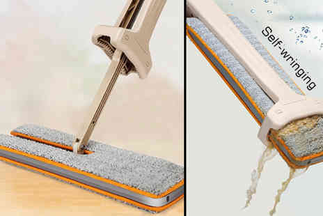 Gagala - Self Wringing Double Sided Flat Mop - Save 62%