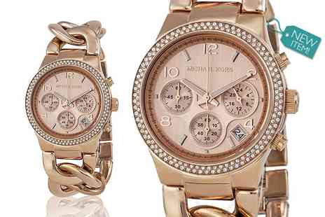 Class Watches - Ladies Michael Kors MK3247 runway twist watch - Save 56%