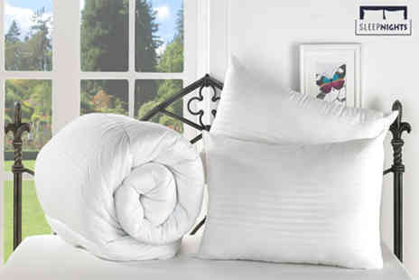 Better Dreams - Single, Double, King or Super king size duvet and two pillows set - Save 59%