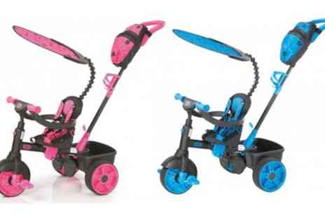 Groupon Goods Global GmbH - Little Tikes 4 in 1 Deluxe Edition Trike With Free Delivery - Save 35%