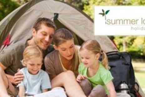 Summer Lodge Holiday Park - Three Night Tent or Caravan Pitch Stay For Up to Four With Facilities and Entertainment - Save 60%